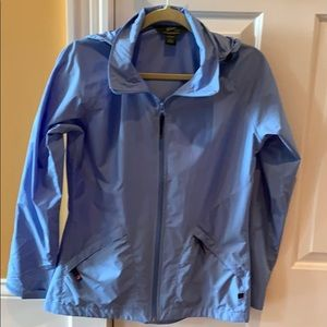 Wool rich lightweight waterproof rain jacket